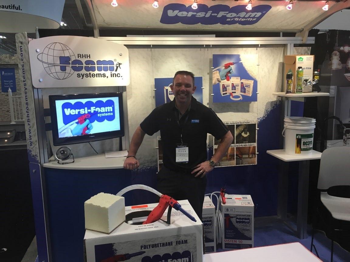 Versi-Foam at SPFA Convention & Expo