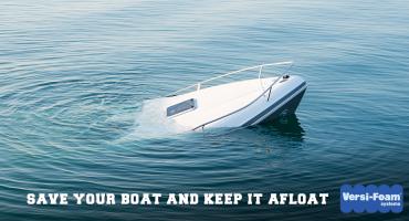 spray foam needed for boat flotation