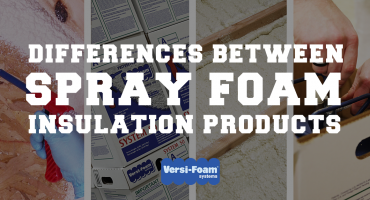 spray foam insulation products