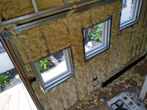 using spray foam insulation