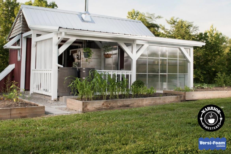 System 50 insulates tiny houses