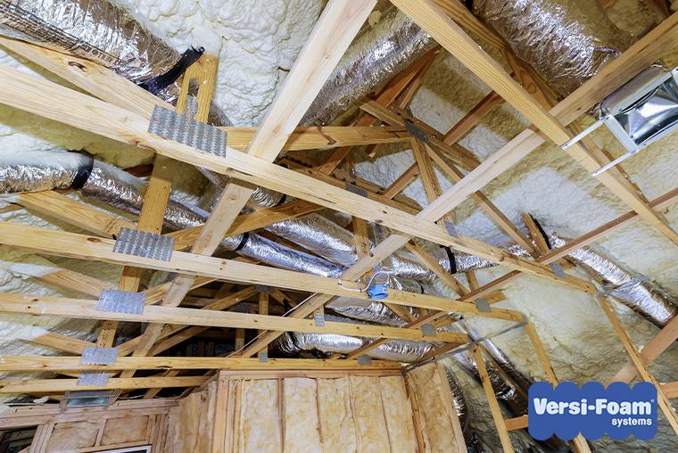 spray foam attic insulation